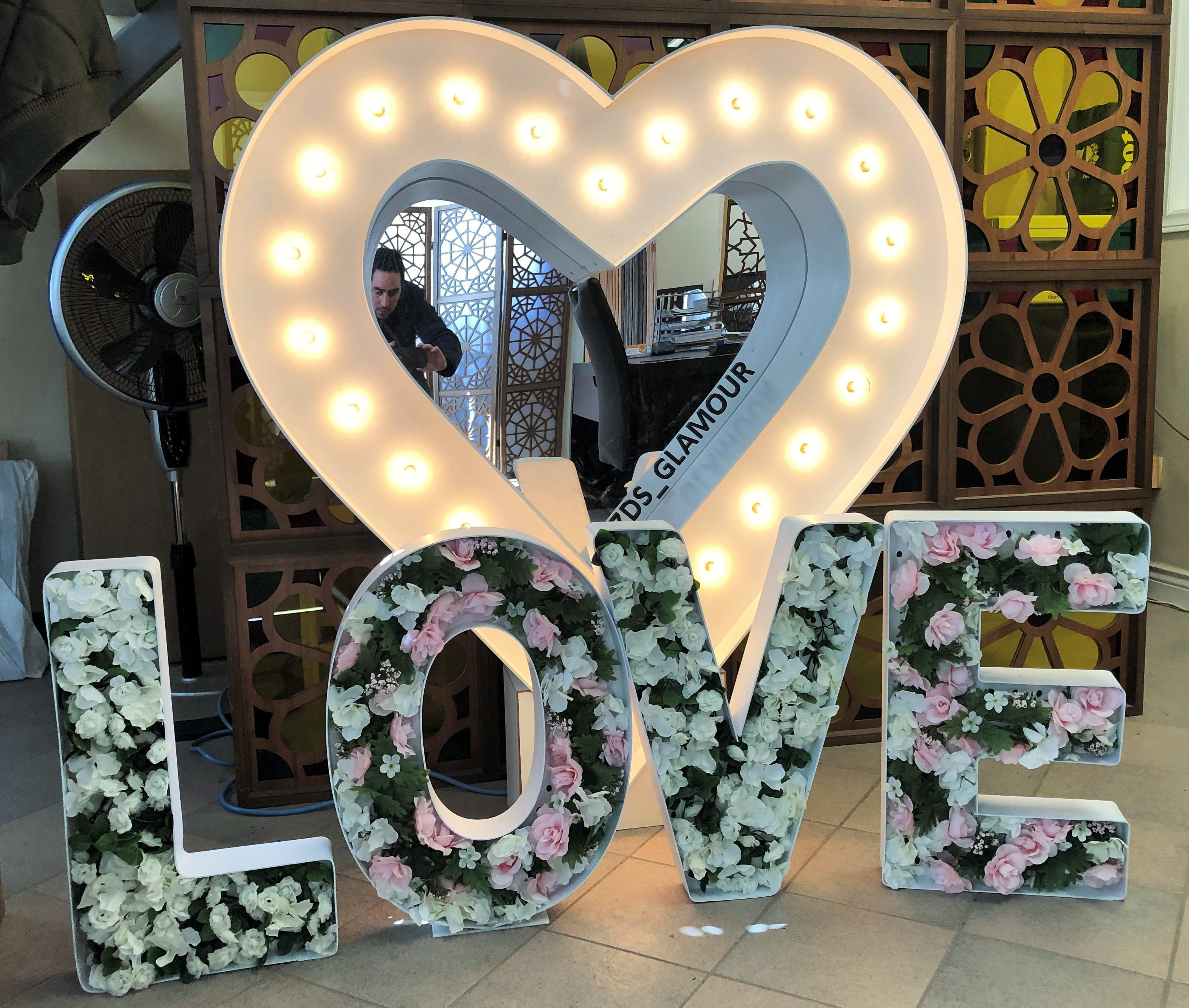 Heart Marquee Sign With Love Letters Rental Marquee Lettering